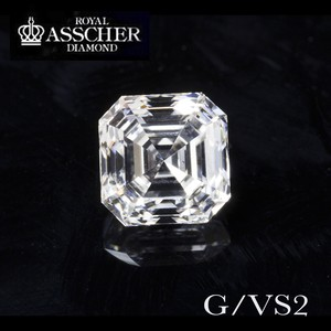 Antique Asscher-cut Diamond 1.01ct G/VS2