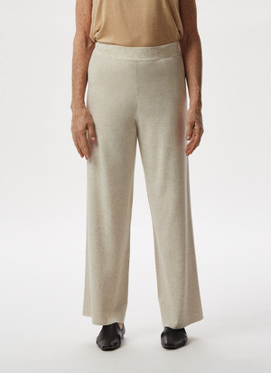 FLUID KNIT STRAIGHT TROUSERS