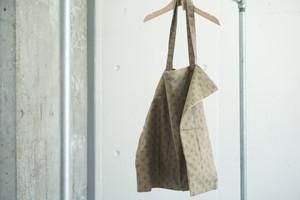 pocketable eco bag 【brown】
