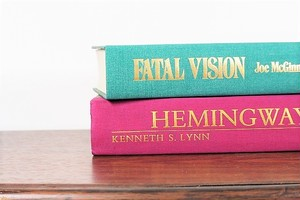 HEMINGWAY -2set-/display book