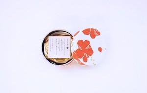 シマノネ お茶入り缶「ハイビスカス」ハイビスカス