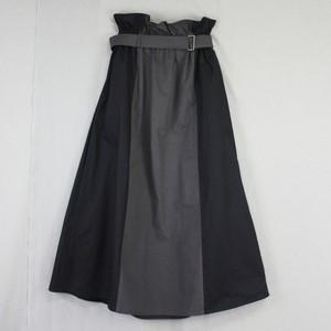 コットンセミロングスカート