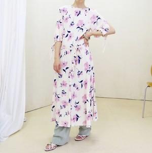 70s printed dress