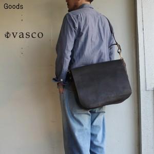 vasco キャンバスレザーメールバッグ LARGE VS-248P (BLACK)