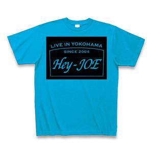 Hey-JOE 看板ロゴTシャツ ターコイズ