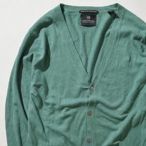 【Sサイズ】SCOTCH&SODA スコッチアンドソーダ CARSIGAN カーディガン GREEN グリーン S 400606190903