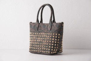 confuse(コンフューズ)BAG DarkGreencamo GoldStarstuds