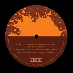 "【LP 12""】""Sol Origin""Loftsoul×Soul-T feat.Andy Compton / <V.A.> MOTOR CITY WINE RECORDINGS E.P. - MEWR004-"