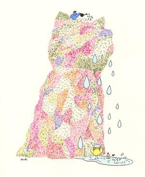 【原画】パピーで水浴び Se están bañando