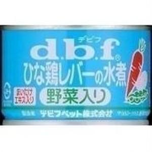 デビフ ドッグフード ひな鶏レバーの水煮(野菜入り) 160g×24缶