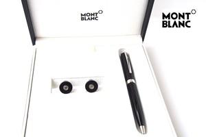 モンブラン|MONTBLANC|PIXドイツ製ボールペン×カフリンクスセット|メンズアクセサリーPIXセット