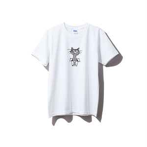 hntbk2024 Maskita Laba feel so good TシャツWHITE
