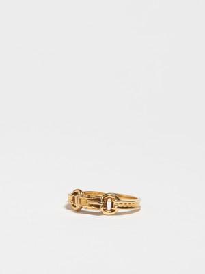 Belt Motif Ring / Hermès