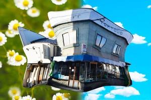 糸崎公朗『長野:東京堂模型店の家』A4size