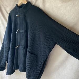 black china jacket /黒のチャイナジャケット