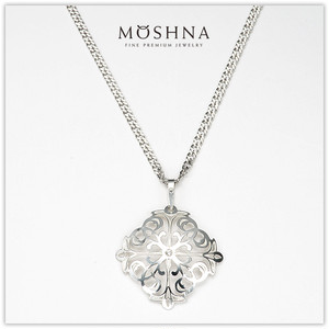 【MOSHNA:モシュナ】SILVER SET LACE CROSS