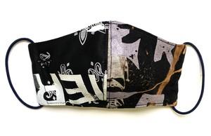 【COTEMER マスク 日本製】BAND × PRINT MASK 0427-151