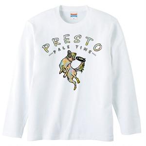 [ロングスリーブTシャツ] PRESTO