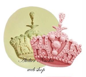 王冠♪シリコンモールドb