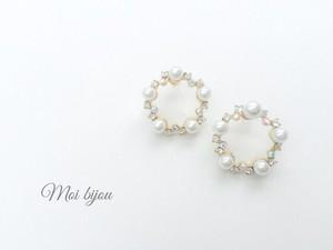 Pearl wreathe pierce*