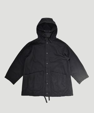 Engineered Garments EG Madison Parka Melton Wool Black FG262