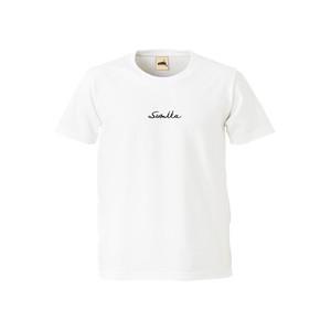 sumika / 刺繍Tシャツ(ホワイト)