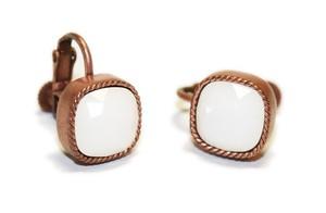 〈エルコブレ〉銅色の耳飾り milk ミルク