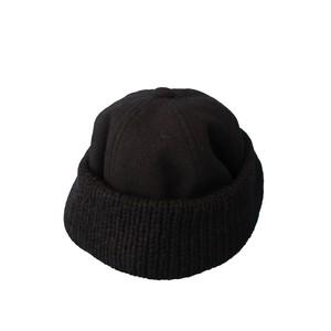 KNIT&MELTON CAP 1(COMESANDGOES)
