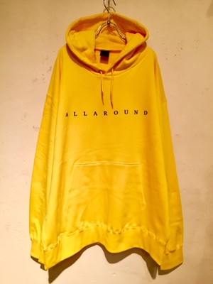 """PULLOVER BIG HOODIE """"Ver.3"""" (YELLOW)"""