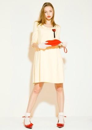 Bunny ピンストライプ ドレス
