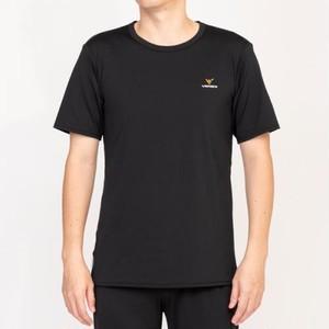 【ベネクス】リフレッシュTシャツメンズ Mサイズ ブラック 6705‐0304