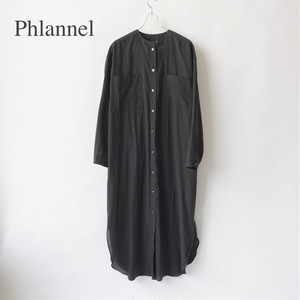 Phlannel/フランネル・Cotton Silk Khadi Shirt Dress