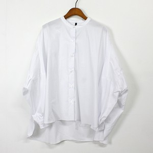 バックヨークギャザー ワイドショートシャツ
