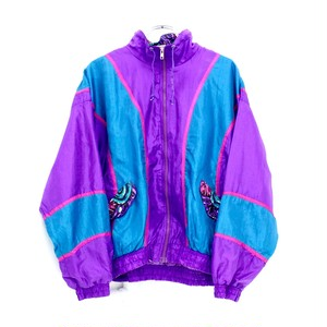 design nylon blouson