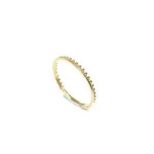 Granulation narrow ring