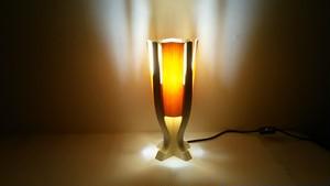 【いやしとやすらぎの空間】を演出する 青森ヒバ 木製 テーブルランプ   No.   007