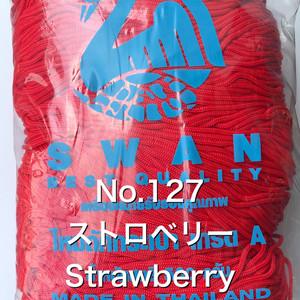 スワン糸 No.127 ストロベリー Strawberry