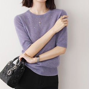 Short-sleeved Sweater T641