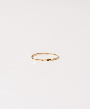 Thin Multi Sided Ring[Silver925]