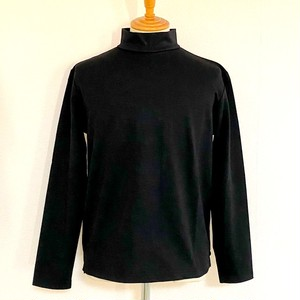 Slab Jersey High-Neck Black