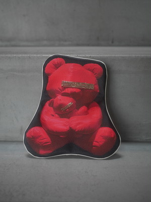 UNDERCOVER / TRANSCRLPTION POUCH (UBEAR RED)
