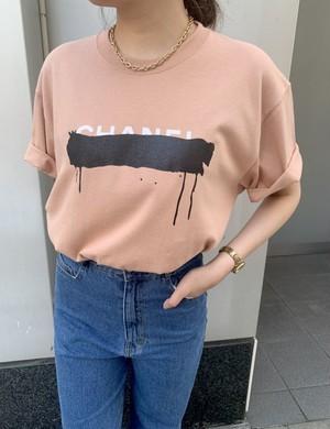 ユニセックスCパロディtシャツ[Color:テラコッタ]