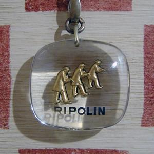 フランス RIPOLIN[リボラン] 塗装メーカー 職人ブルボンキーホルダー