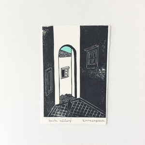 kanaexpress 版画シート back alley