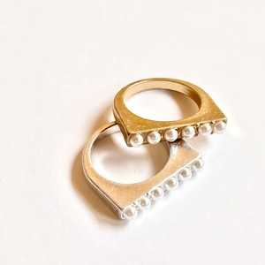 plate pearl ring