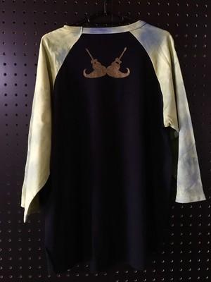 【手染め】ラグランTシャツ
