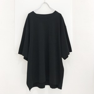 jieda poket big tee(black)