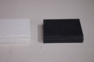 ハタノワタル 敷板 コースター
