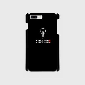【8Plus,7Plus】ロゴ (文字入り) iPhoneケース黒
