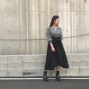 JOYMAKER/サイドスリットアシメフレアスカート